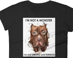 american pitbull terrier t shirts pit bull shirt etsy