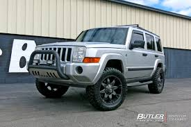 jeep commander jeep commander with 20in fuel octane wheels exclusively from