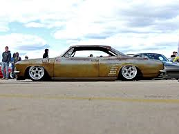 first chevy car slammed chevy corvair at first class fitment mind over motor