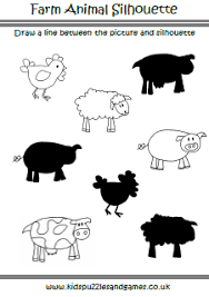 farm animals kids puzzles and games