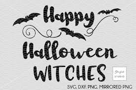 happy halloween witches svg cut file h design bundles