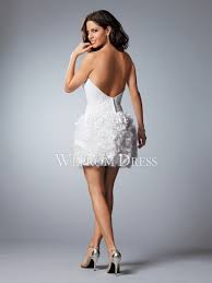 petite short mini natural sleeveless strapless ball gown