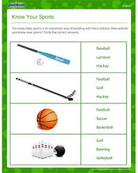 know your sports u2013 father u0027s day english worksheet for 2nd grade