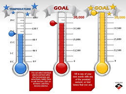 29 images of goal thermometer template microsoft infovia net