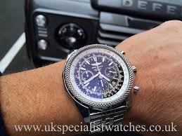 bentley rolex breitling bentley motors special edition a25362