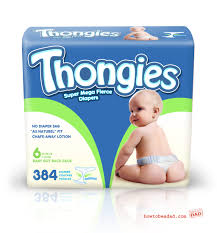 thongies diaper thongs bad baby product idea how to be a dad