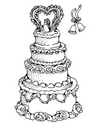 25 dessins de coloriage gâteau à imprimer