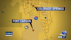 fort carson map lockdown lifted at fort carson after person is suspect in