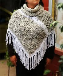 ponchos a palillo poncho gris tejido con palillos poncho dos agujas knit poncho