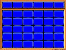 Image Jeopardy Board Template Gif Game Shows Wiki Fandom Jepordy Template