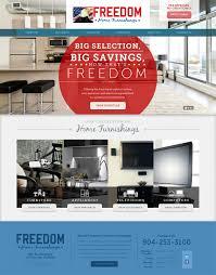 freedom home furnishings web design s4 portfolio jacksonville