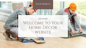 home décor website templates godaddy