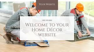 Home Decor Items Websites by Home Décor Website Templates Godaddy