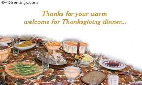 send ecards thank you thanksgiving dinner
