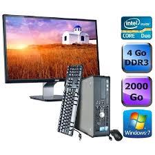 ordinateur bureau complet pc bureau complet pc de bureau complet prix pas cher les soldes