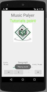 android audio player android mediaplayer