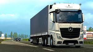 mercedes truck mercedes benz actros 2014i sound hd mod for ets 2