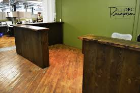 Reclaimed Wood Reception Desk Reclaimed Wood Reception Desk Tannery Kitchener 11 Blog