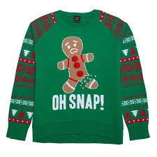 lol vintage oh snap sweater green xl