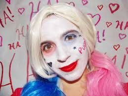 pink wig spirit halloween a harley quinn makeup tutorial so you can get a u0027suicide squad