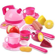 Kitchen Sets For Girls Pretend Play Kitchen Set For Kids 42 Piece Pink Cooking Bake Food