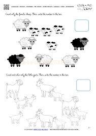 farm animals worksheet activity sheet 17
