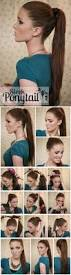 How To Make Hairstyles For Girls by 5 One Minute Basic Ponytail Hairstyles Tutorial For Daily Style