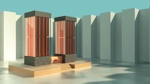 futuristic architecture artists buildings loversiq