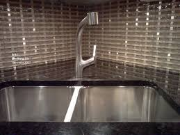 groutless kitchen backsplash groutless glass metal basketweave backsplash