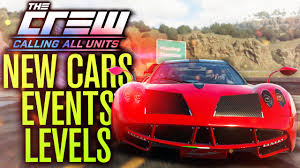 all the cars the crew calling all units gameplay cars events level cap