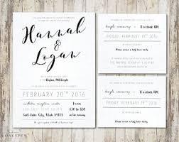 wedding invitation inserts temple insert etsy