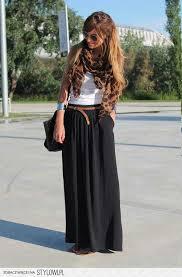 lange rok 6 ways to style a maxi skirt rok kleding en rokken