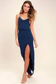 navy blue dress maxi dress sleeveless maxi 38 00