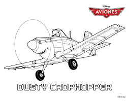 dusty chug disney planes dusty coloring pages