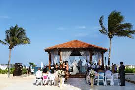 gazebo wedding at the royal playa del carmen shanta and alexander