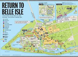Map Indy 2015 U2013 Indy Car Paddock At The Detroit Belle Isle Gp May 29 To 31