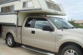 Camper For Truck Bed How To Load A Camper On A Pickup Gone Outdoors Your Adventure