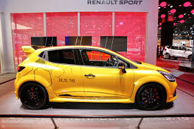 renault paris renault displays clio rs16 concept at 2016 paris motor show