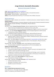 Academic Resume Format Academic Resume Sample For Graduate Virtren Com
