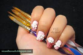 vic and her nails born pretty store acrylic nail art brush review
