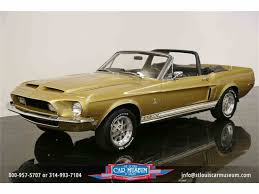 1968 mustang gt350 1968 shelby gt350 for sale on classiccars com 2 available