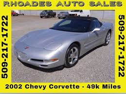 2005 corvette for sale cheap 2002 chevrolet corvette for sale carsforsale com