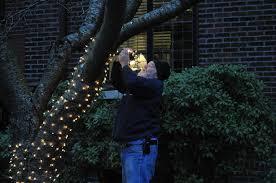 hanging christmas lights hanging christmas lights you feel not so jolly clayton