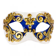 blue masquerade masks venetian mask in london for him white and silver settecento