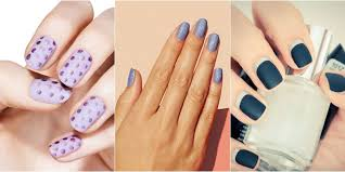 12 cool designs for matte nails u2014 matte nail art ideas