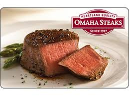 omaha steaks gift card omaha steaks 50 gift card email delivery neweggflash