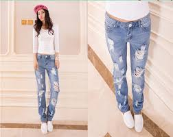 Light Colored Jeans Light Coloured Ripped Jeans U2013 Global Trend Jeans Models