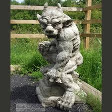 guardian gargoyle cast garden ornament statue sculpture