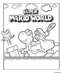 mario printable free coloring pages on art coloring pages