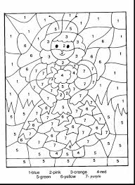 good worksheets number coloring page with numbers coloring pages